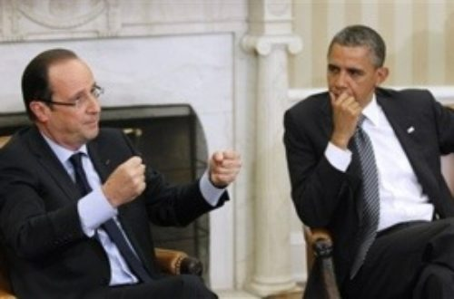 Article : Hollande : la marionnette d'Obama