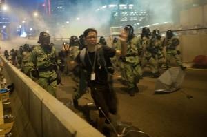 Manifestation de Hong Kong