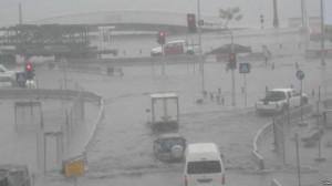 Les avenues de Luanda, après la pluie