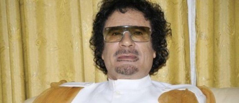 Article : Mouammar Kadhafi: l'immortel qu'on effacera jamais de notre mémoire