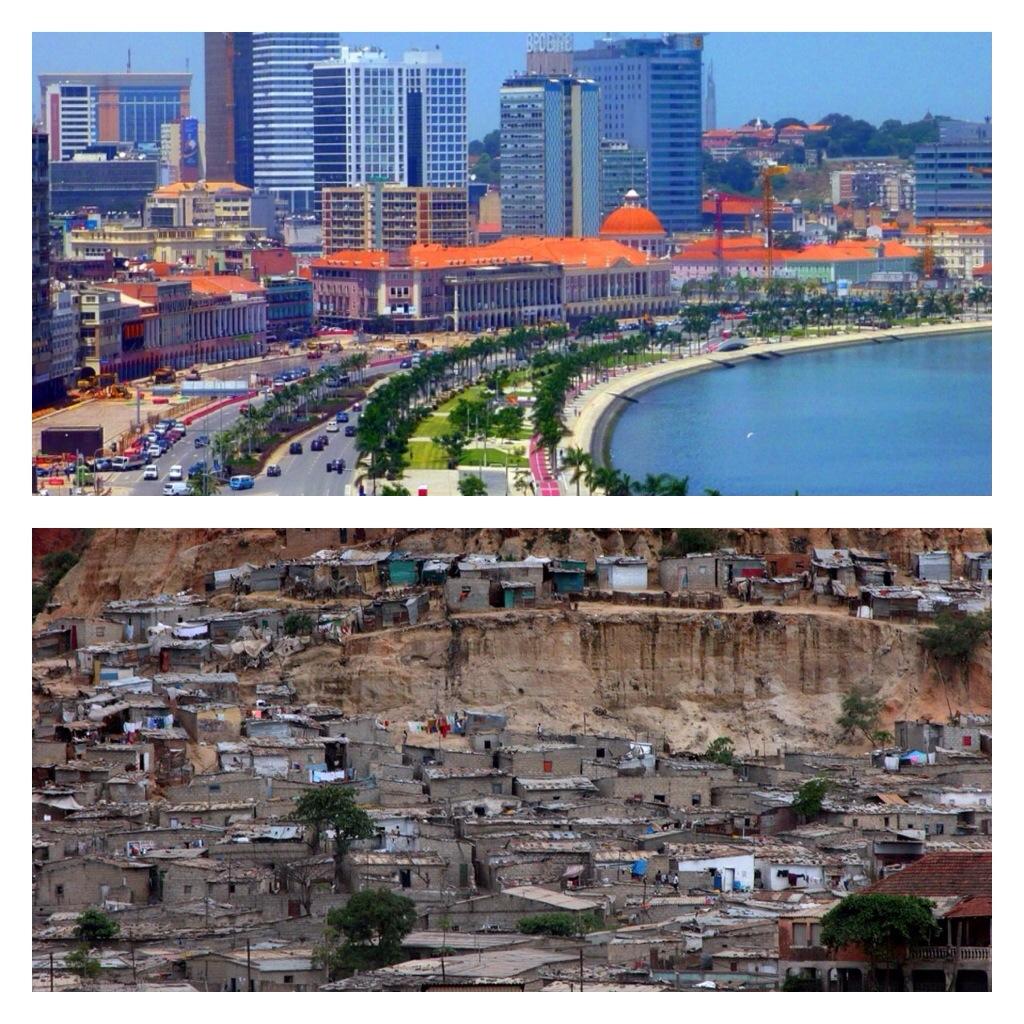 Luanda des riches et luanda des autres chos du monde for Piscine la riche